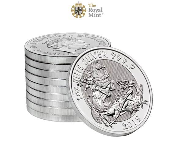 1 oz Silber Valiant 2019 Royal Mint - erste Auflage - max. 100.000  ( diff.besteuert nach §25a UStG )