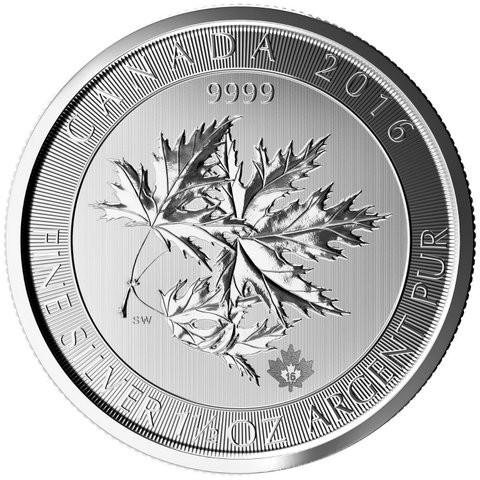 1,5 oz Silber Canada Multi-Maple Leaf 2017 ( diff.besteuert nach §25a UStG )