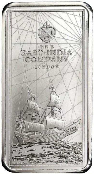 250 Gramm Silber St Helena East India Company ( diff.besteuert nach §25a UStG )