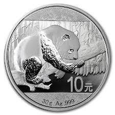 30 Gramm Silber China Panda 2016 ( diff.besteuert nach §25a UStG )