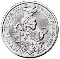 2 oz Silber Royal Mint / United Kingdom