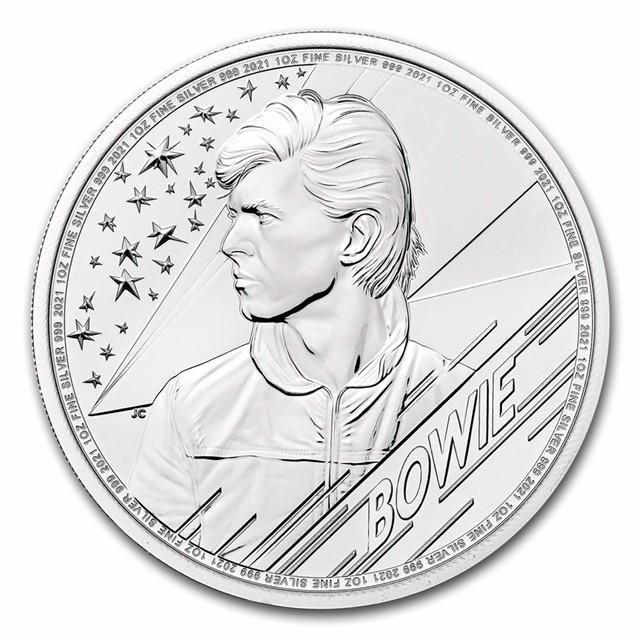 "1 oz Silber Royal Mint "" David Bowie "" - max 25.000 ( diff.besteuert nach §25a UStG )"