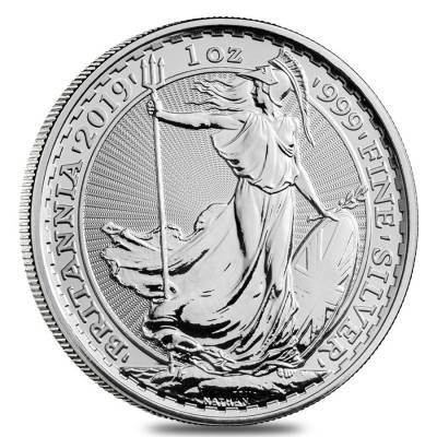 1 oz Silber Britannia 2019 ( diff.besteuert nach §25a UStG )
