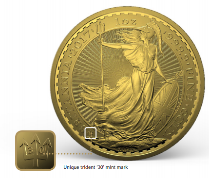 1 oz Gold Britannia