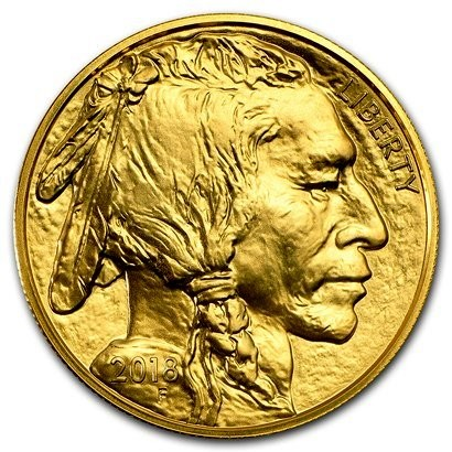 1 oz Gold Buffalo USA 2019