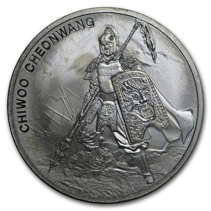 "1 oz Silber Südkorea 2016 "" Chiwoo Cheonwang "" 1te Ausgabe"