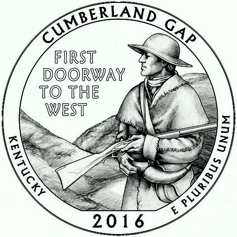 "5 oz Silber USA "" America the beautiful "" Kentucky - Cumberland Gap "" ( diff.besteuert nach §25a UStG )"