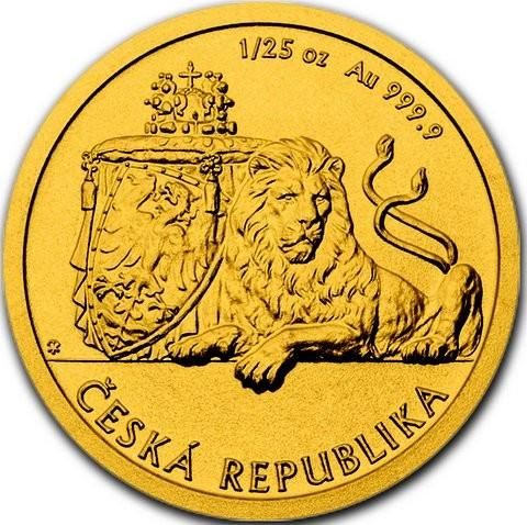1/25 oz Gold Czech Lion - max Mintage 4.500 - LZ.: Ende Okt / Anf. Nov.