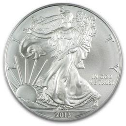 1 oz Silber Eagle 2013 ( diff.besteuert nach §25a UStG )