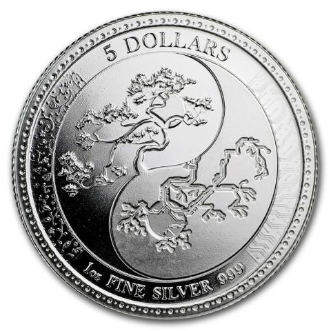 "1 oz Silber Tokelau "" Equilibrium 2018 "" BU ( diff.besteuert nach §25a UStG )"
