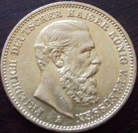 20 Mark Friedrich III  - 7,16 Gramm Gold fein