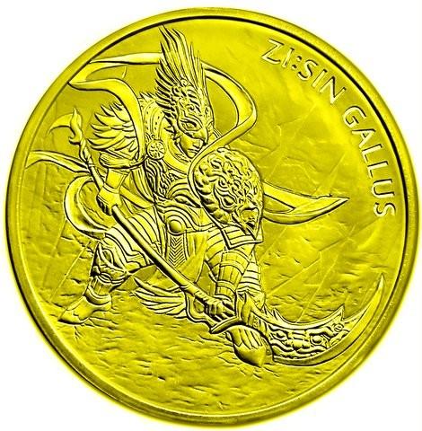 "1 oz Gold Korea "" Gallus / Hahn "" 2017 ( Komsco ) - Auflage max 1.200 - LZ Anfang April"