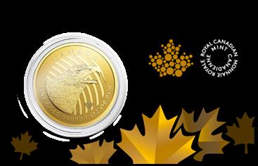 1 oz Gold 99999 Canada Golden Eagle in Blister / inkl. Sicherheitsmerkmal