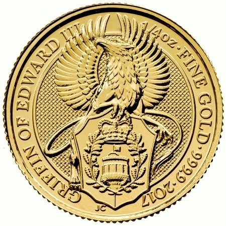 1/4 oz Gold Royal Mint / United Kingdom
