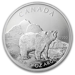 1 oz Silber Royal Canadian Mint