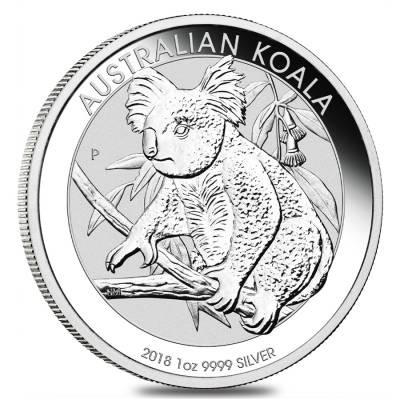 1 oz Silber Koala 2018 ( diff.besteuert nach §25a UStG )
