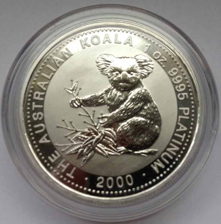 1 oz Platin Koala 2000