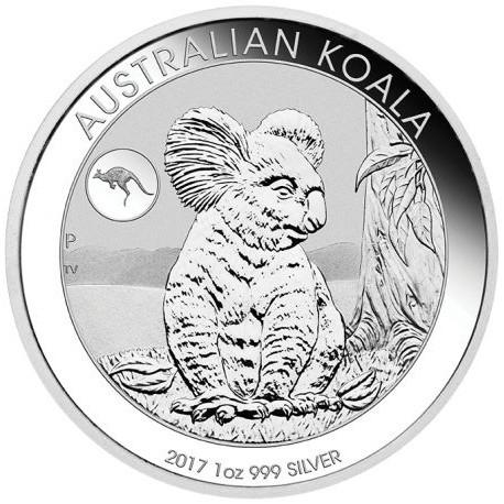 "1 oz Silber Koala 2017 "" Privy Mark Kangaroo / Känguru "" in Kapsel - max. Auflage 50.000 ( diff.besteuert nach §25a UStG )"