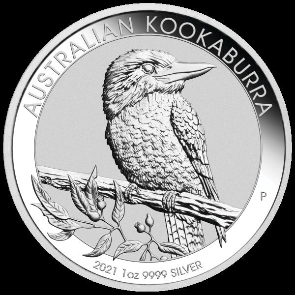 20 X 1 oz Silber 2021 Kookaburra ( diff.besteuert nach §25a UStG )