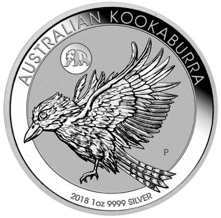 "1 oz Silber Kookaburra 2018 "" Privy Mark Panda "" - Peking Coin Show - max. 8000 Auflage  ( diff.besteuert nach §25a UStG )"