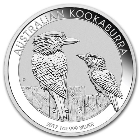 1 oz Silber Kookaburra 2017 in Kapsel ( diff.besteuert nach §25a UStG )
