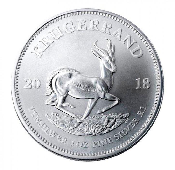 1 oz Silber Krügerrand 2018 ( diff.besteuert nach §25a UStG )