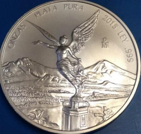 1 oz Silber Libertad Mexiko Jahrgang div. Jahre /  ggf. angelaufen / Zweitmarkt  ( diff.besteuert nach §25a UStG )