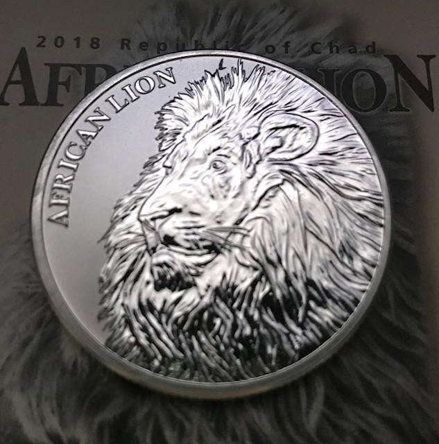 1 oz Silber Chad