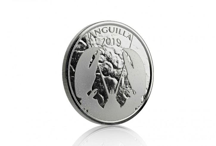 "1 oz Silber Anguilla "" Lobster 2019 "" Scottsdale Mint / Prooflike in Kapsel ( diff.besteuert nach §25a UStG )"