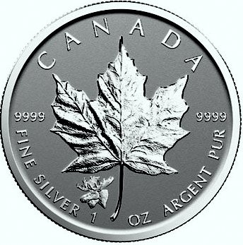 "1 oz Silber Maple Leaf Reverse Proof "" Privy Mark Moose / Elch  "" / Auflage max. 50.000 ( diff.besteuert nach §25a UStG )"