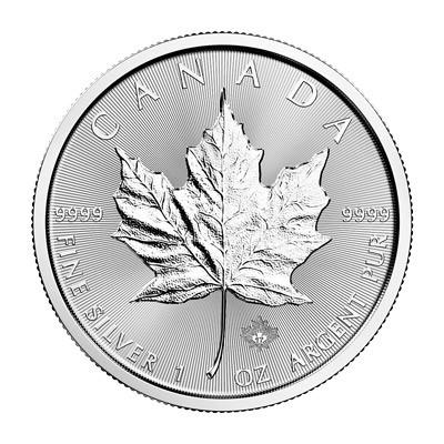 1 oz Silber Maple Leaf 2018  inkl. Sicherheitshologramm ( diff.besteuert nach §25a UStG )