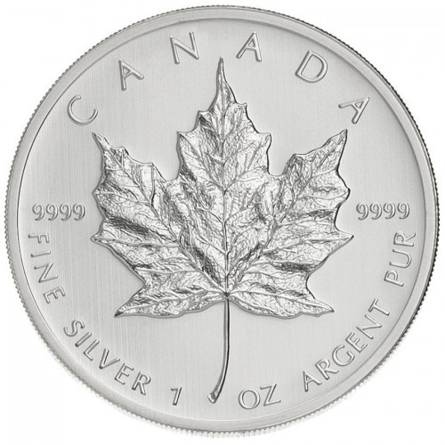 1 oz Silber Maple Leaf div Jahre / ggf. angelaufen ( diff.besteuert nach §25a UStG )