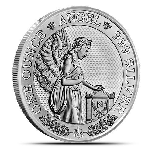 """1 oz Silber St Helena """" Napoleon Angel """" - LZ Mitte Juli ( diff.besteuert nach §25a UStG )"""
