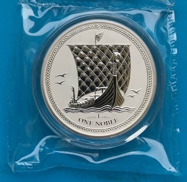 1 oz Silber Isle of man Reverse Proof
