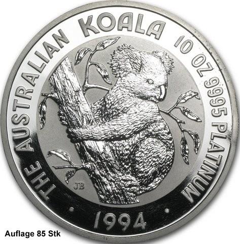 2 oz Platin Koala 1993