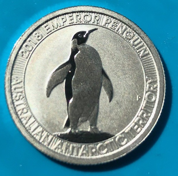 1/3 oz Platin Pinguin Perth Mint