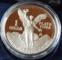 1 oz Silber Libertad Proof Mexiko