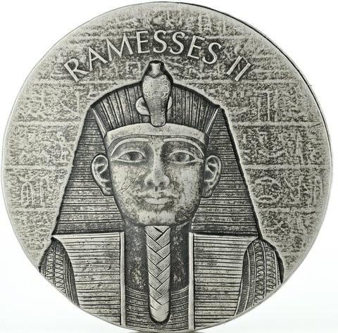 2 oz Silber Tschad Ramses / Ramesses