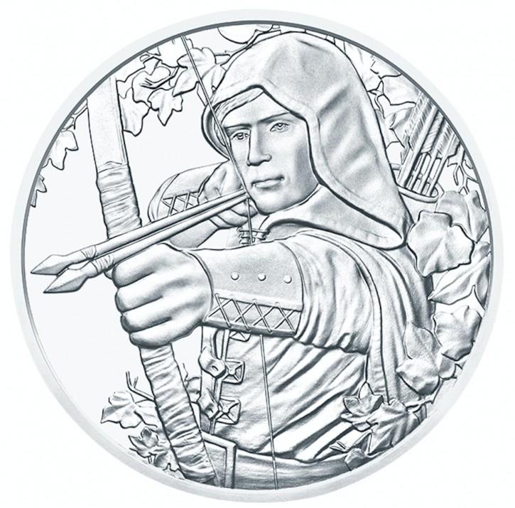"1 oz Silber Österreich "" Robin Hood "" ( diff.besteuert nach §25a UStG )"
