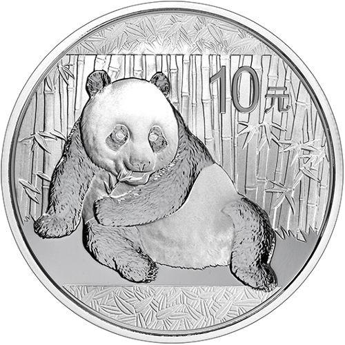 1 oz Silber China Panda 2015 ( diff.besteuert nach §25a UStG )