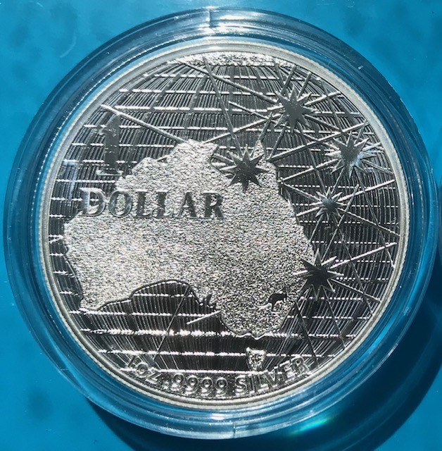 10 x 1 oz Silber Royal Australian Mint Beneath the Southern Skies ( diff.besteuert nach §25a UStG )