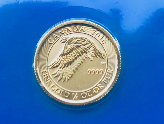 1/4 oz Gold Canada