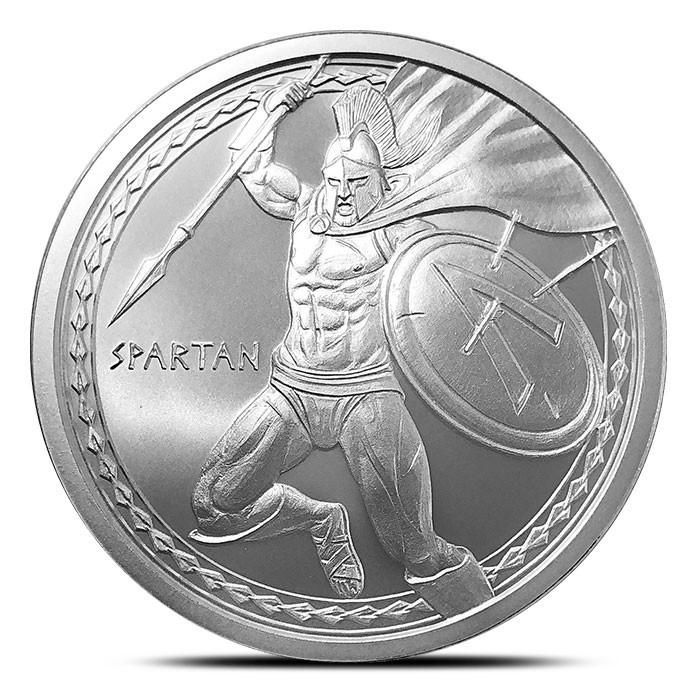 """1 oz Silber Warrior Series """" Spartan Warrior """" ( 19% Mwst )"""