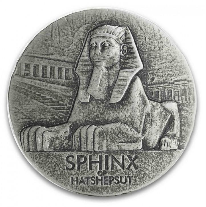 "5 oz Silber "" Sphinx "" inkl. Box - Egyptian Relic Series / Scottsdale Mint ( diff.besteuert nach §25a UStG )"