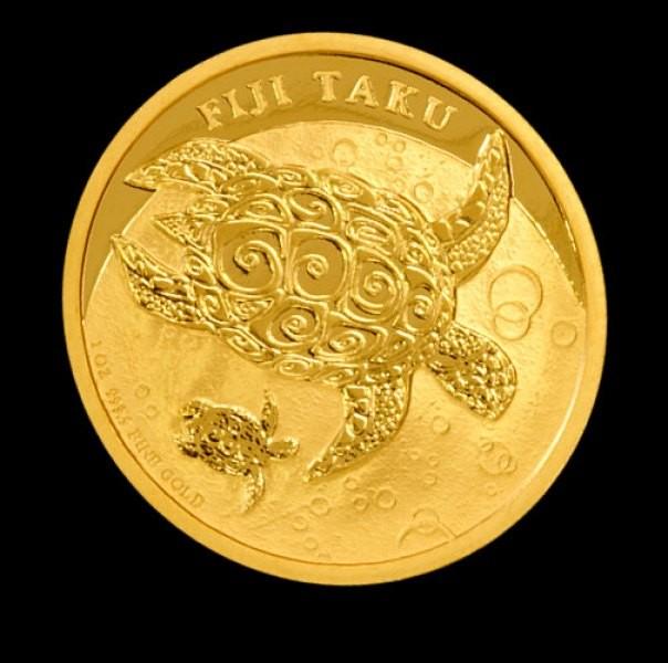 1 oz Gold Taku 2013 ( New Zealand Mint ) - in Blisterkarte