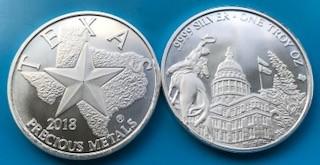 1 oz Silber Texas Precious Metals ( 19% Mwst )