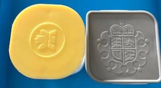 Leere Tube für 1 oz Silber Unzen ( ggf. beschriftet oder mit Klebestreifen versehen )