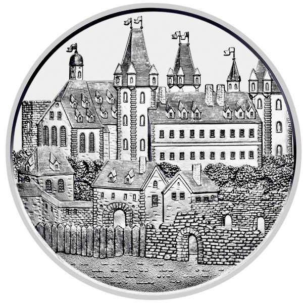 """1 oz Silber Österreich """" 825 Jahre Münze Österreich """" Wiener Neustadt ( diff.besteuert nach §25a UStG )"""