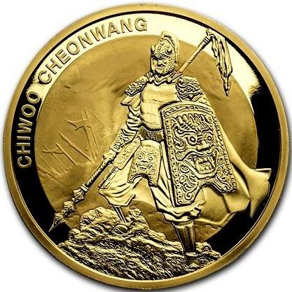 1 oz Gold Süd Korea
