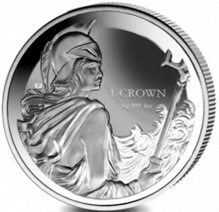 """1 oz Silber Falkland Islands """" Britannia """" Reverse Proof / ohne Schriftzug( diff.besteuert nach §25a UStG )"""